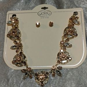 Catherine Stein Necklace and earrings set new